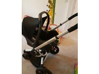 3in1 Quinny Buzz travel system with extras