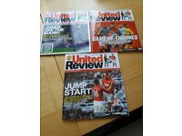 Manchester United Football Review Magazines