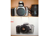 CANON EOS 3000N 35MM FILM CAMERA - Twin lens kit – Asking price £150