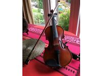 3/4 Cadenza violin for sale. Good condition. £90.