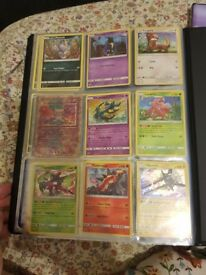 Pokemon cards mixed