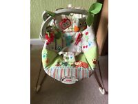 Fisher price forest friends bouncer chair