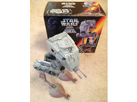Star Wars Imperial AT-ST Scout Walker - with box - by Kenner from 1996 - Didsbury area