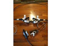 Shimano Deore XT BR-M765/ST-M765 Disc Brakes, Levers and Shifters 3x9 Speed