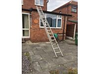 Youngman 2 section push up ladder