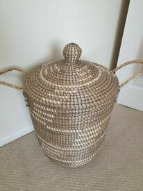 Rattan basket in new condition