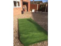 3pieces of artificial grass 35 mm pile brand new