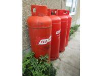 4 x 47kg LPG Empty Gas bottles