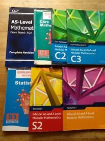 Maths A and AS level books