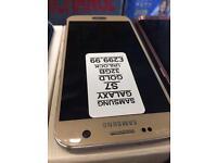 S7 32GB unlocked gold
