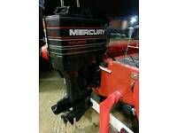 1997 Mercury 135 HP V6 Outboard in great condition for RIB / Boat