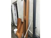 Free household and garden stuff wood and metal
