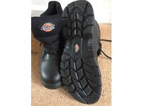Dickies steel toe cap safety boots size 8/42 never worn as new , buyer to collect