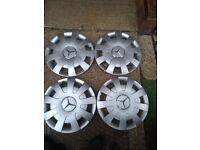 Mercedes 16 Inch Hubcaps for Steel Wheels in West London Area