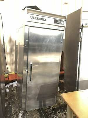 Victory R-22-s3 Commercial 32 Stainless 1- Door Reach-in Refrigeratorfreezer
