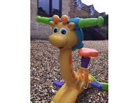Vtech bounce and ride giraffe toddler bike