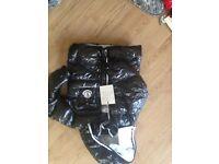Moncler kids coat - 5-6 years - black - brand new