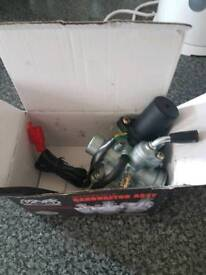 New carb for 2 stroke scooter
