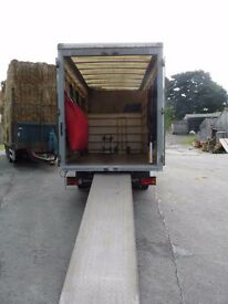 (1 or 2 )MAN AND VAN 24/7 LARGE CLEAN LUTON VAN SOFA WARDROBE BED REMOVAL ALL UK CHEAPEST
