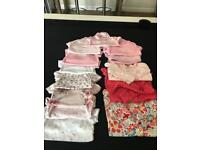 0-3 baby grows/vests