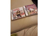 2 x DS Games (Hello Kitty & Fashion Modelling)