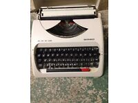 Silver Reed Portable Manual Typewriter SR 280 Deluxe