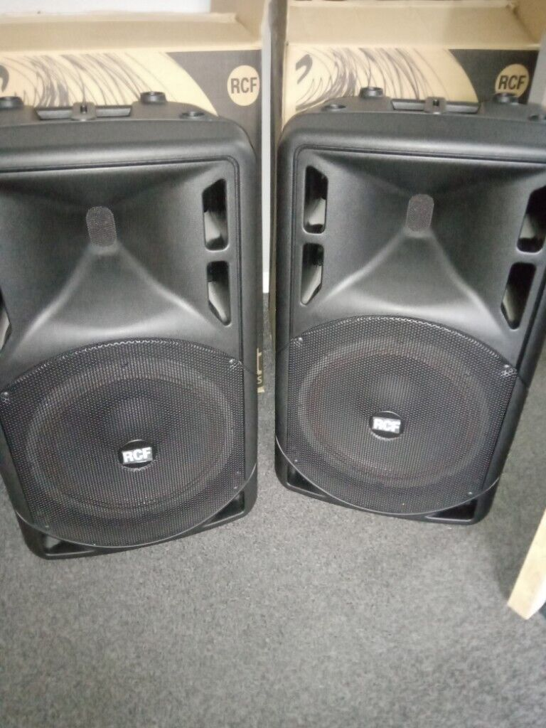 RCF Art 312A MkIII 400w powered speakers  | in Widnes, Cheshire | Gumtree