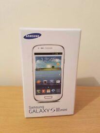 Samsung Galaxy S III Mini GT-I8190 - 8GB - Unlocked SIM Free Smartphone