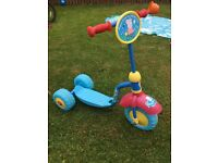 Peppa pig scooter. Good condition. Daughter has out grown it's use.