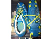 pair of astro turf foootball boots & pair of football boots