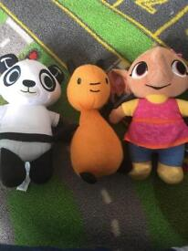 Bing characters £10 for all 3
