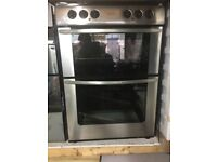 BELLING STAINLESS STEEL 60CM FREE STANDING 60cm ELECTRIC COOKER FOR SALE, EXCELLENT CONDITION