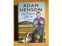 Adam Henson like farmer, like son -a memoir book