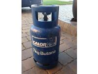 Butane gas bottle