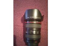 Canon 24-105mm f4 L Professional Lens
