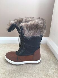 Lovely NEW Winter Boots from ALDO with fur