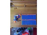Nerf gun small blue