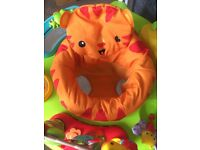 Fisher price roaring jungle jumperoo
