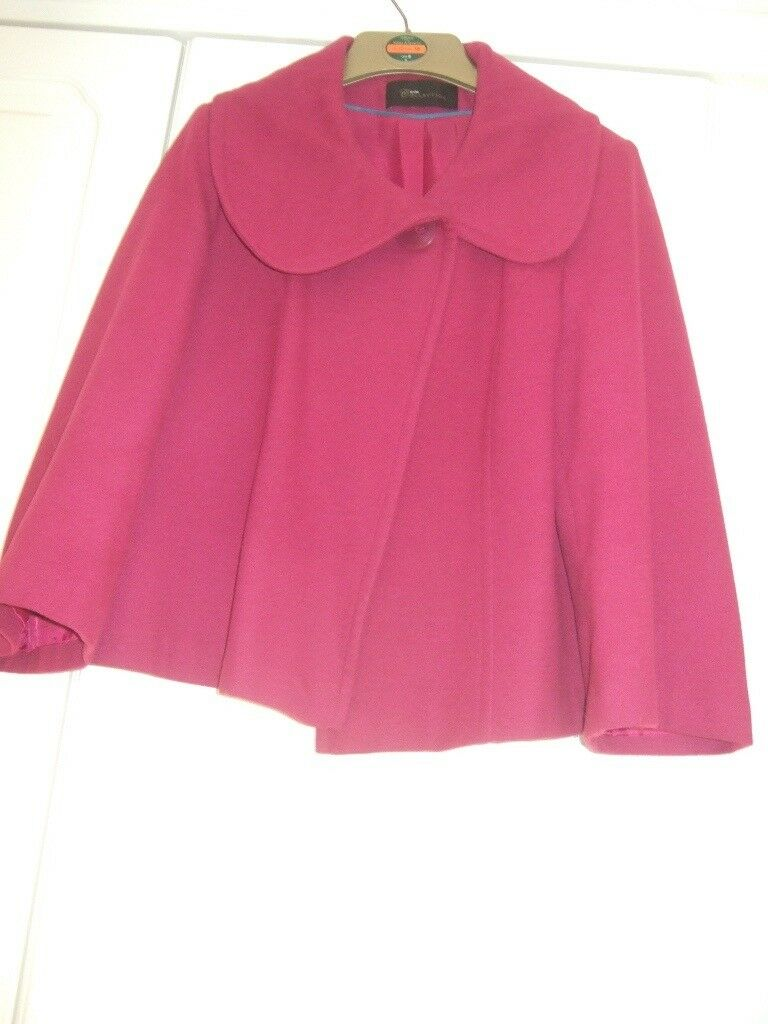LOVELY FUCSHIA PINK JACKET SIZE 12