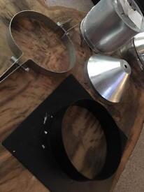 Flue parts / log burner / workshop /