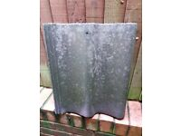 Weathered roof tiles x 27 for sale - Redland Grovebury Tiles - RD 1034756