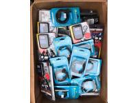 Mixed mobile phone accessories from £1