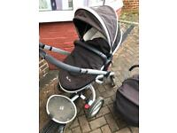 Silver Cross Surf Pram and Car Seat