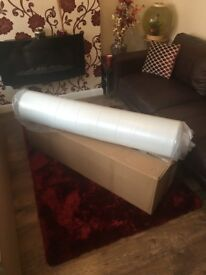 4ft6 Double Memory Foam Mattress - Boxed - Sealed - Brand New! - £95
