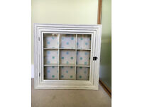 Laura Ashley - hanging display cabinet for ornaments