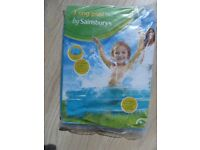 3 ring paddling pool 104cms diameter brand new unopened