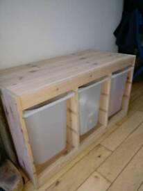 IKEA TROFAST wooden storage unit