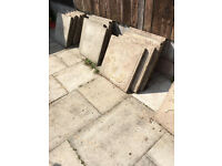 36 Paving slabs (60x60) FREE