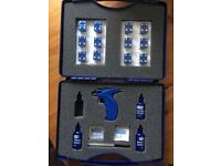 Used, Caflon Blu Ear piercing Starter Full Large kit official