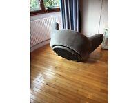 Novelty Hand Swivel Chair - Not a cheap version